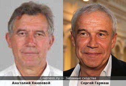 Миротворец Славянска Анатолий Хмелевой и Сергей Гармаш