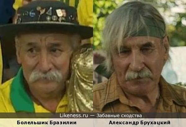 Александр Брухацкий и Очень преданный болельщик Бразилии