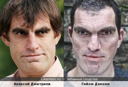 Алексей Дмитриев и Гийом Делони