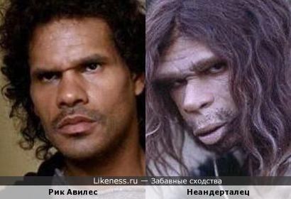 Рик Авилес и Неандерталец
