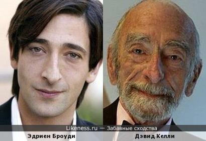 Эдриен Броуди в старости?