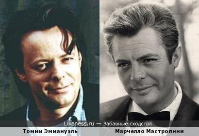 Томми Эммануэль и Марчелло Мастроянни