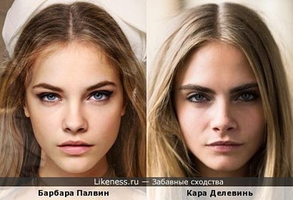 Барбара Палвин и Кара Делевинь