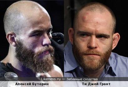 Алексей Буторин и Ти Джей Грант