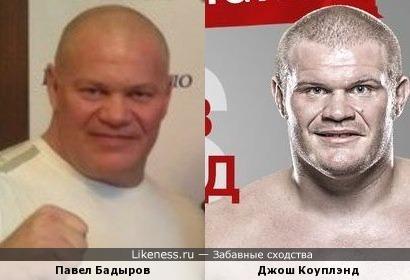 Джош Коуплэнд и Павел Бадыров