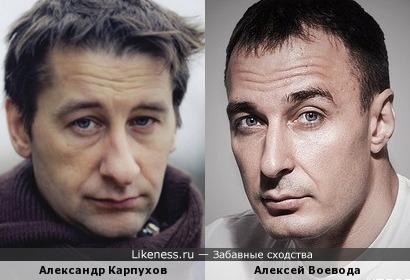 Александр Карпухов и Алексей Воевода