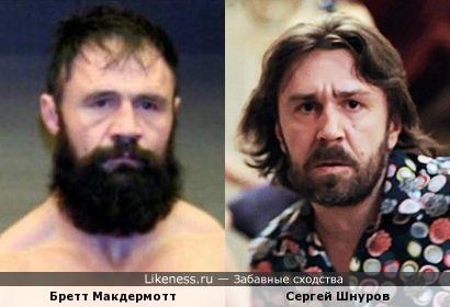 Сергей Шнуров и Бретт Макдермотт
