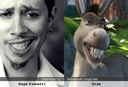 Кирк Хэмметт и Осел