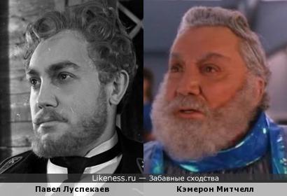Павел Луспекаев и Кэмерон Митчелл