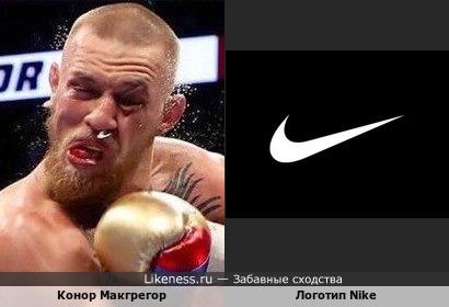Конор Макгрегор рекламирует Nike