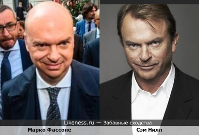 Сэм Нилл и Марко Фассоне