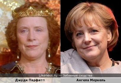 Меркель, Джуди Парфитт