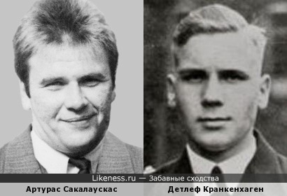 Детлеф Кранкенхаген напомнил Артураса Сакалаускаса