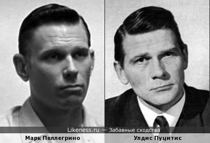 Марк Пеллегрино похож на латвийского актера Улдиса Пуцитиса