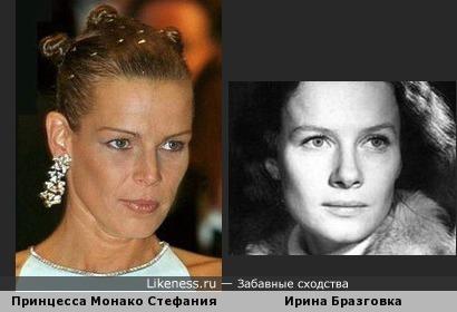 Голубая европейская кровь с лицом нашей актрисы)