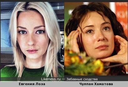 Евгения Лоза просто хамелеон какой-то!)))