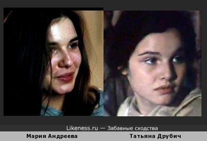 """Мария Андреева, та, что в """"Духless"""", напомнила мне Друбич"""