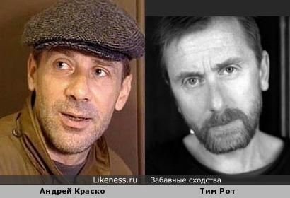 Общие черты у двух очень известных актеров