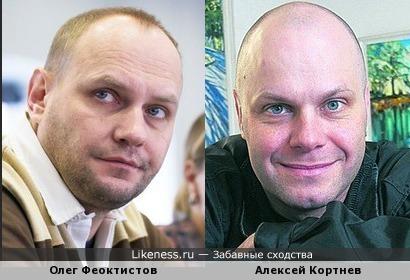 "Олег Феоктистов, актер театра ""Современник"", стал похож на Кортнева"