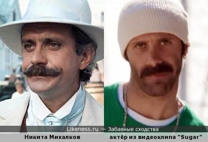 """Актёр из клипа Робина Шульца """"Sugar"""