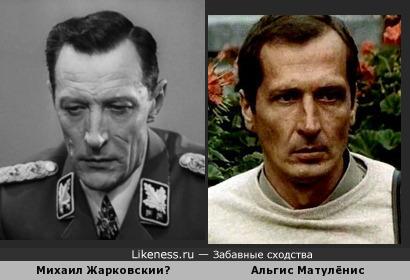 Альгис Матулёнис напомнил Михаила Жарковского