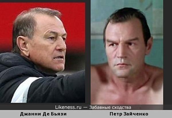 Тренер сборной Албании по футболу на Евро-2016 похож на Петра Зайченко