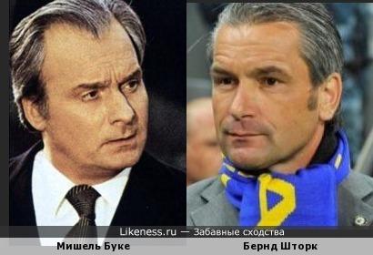 Немец Бернд Шторк, тренер сборной Венгрии, напомнил Мишеля Буке