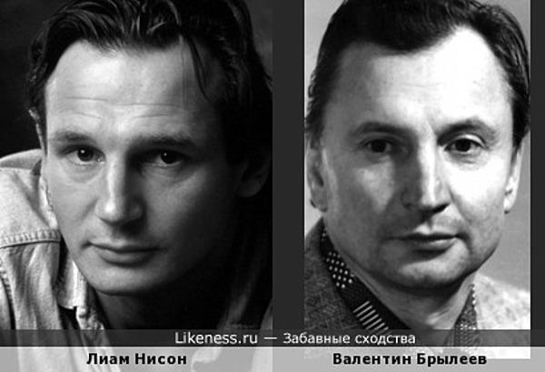 Валентин Брылеев. Одно фото - несколько ассоциаций. Первая: Лиам Нисон