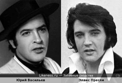 На этом фото советский актёр Юрий Васильев напомнил короля рок-н-ролла