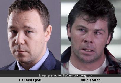 """Фил Хэйес в фильме """"Пудра"""