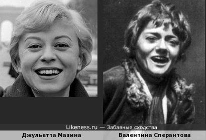 Фото молодой Валентины Сперантовой - большая редкость, но они очень яркие
