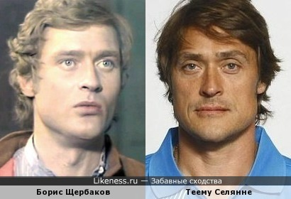 Лучший финский хоккеист за всю историю Теему Селянне похож на Бориса Щербакова