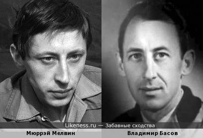Мюррэй Мелвин похож на Владимира Басова