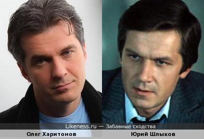 Олег Харитонов порой напоминает молодого Юрия Шлыкова