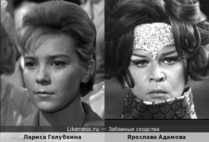 Фото чешской актрисы Ярославы Адамовой навеяло ассоциацию с Ларисой Голубкиной