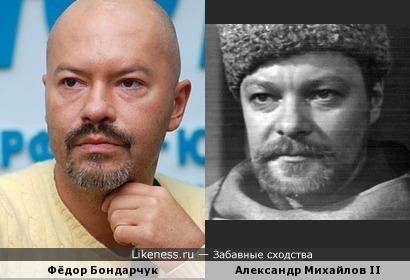 """Фёдор Бондарчук похож на Александра Михайлова, сыгравшего, в частности, в """"Двух капитанах"""""""
