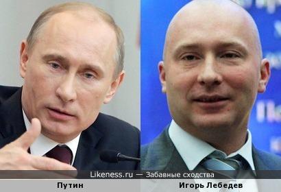 Кто вместо Путина? Да вот этот точно подойдёт по внешнему сходству!