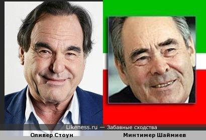 Оливер Стоун похож на татарского экс-президента