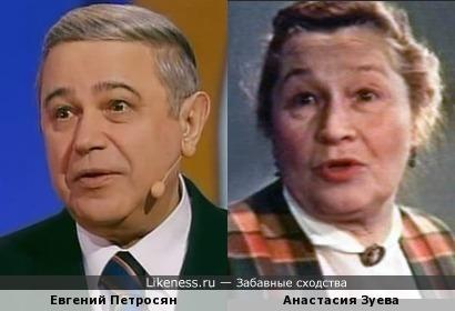 Считаю, что Петросяну крупно повезло со сходством: я его хоть как-то подтянул к Народным