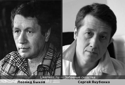 Актёр Мастерской Петра ФОменко Сергей Якубенко напомнил Леонида Быкова