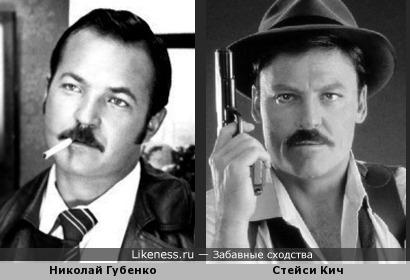 Раннее фото Николая Губенко, на котором он похож на Стейси Кич