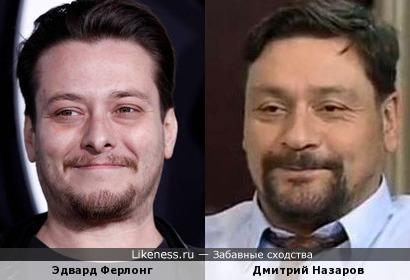 Чем старше становится Эдвард Ферлонг, тем чаще напоминает Дмитрия Назарова