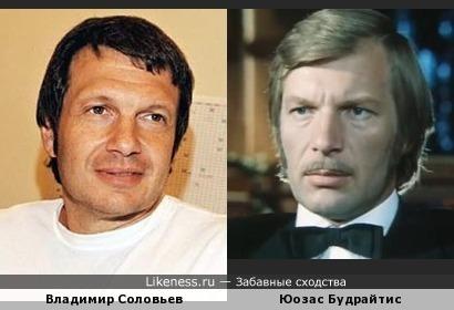Телеведущий Владимир Соловьев на этом фото ассоциируется с Юозасом Будрайтисом