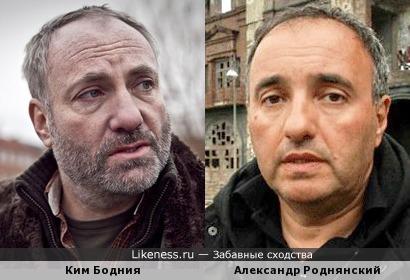 Датский актёр Ким Бодния напоминает теле- и кинодеятеля Александра Роднянского