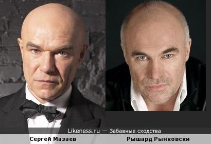 Сергей Мазаев сильно смахивает на польского коллегу Рышарда Рынковски