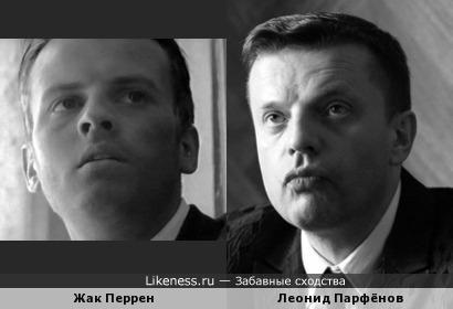 Стоп-кадр, и Жак Перрен уже напоминает Леонида Парфёнова