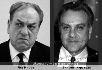 Актёр и сценарист Винсент Куратола напоминает Льва Мирова