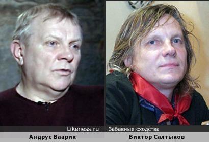 Андрус Ваарик и Виктор Салтыков