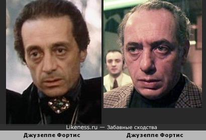 Джузеппе Фортис и Джузеппе Фортис