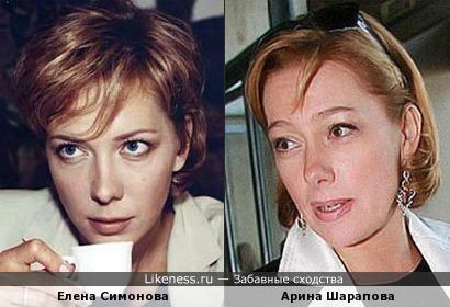Елена Симонова с чашечкой кофе в руке напомнила Арину Шарапову